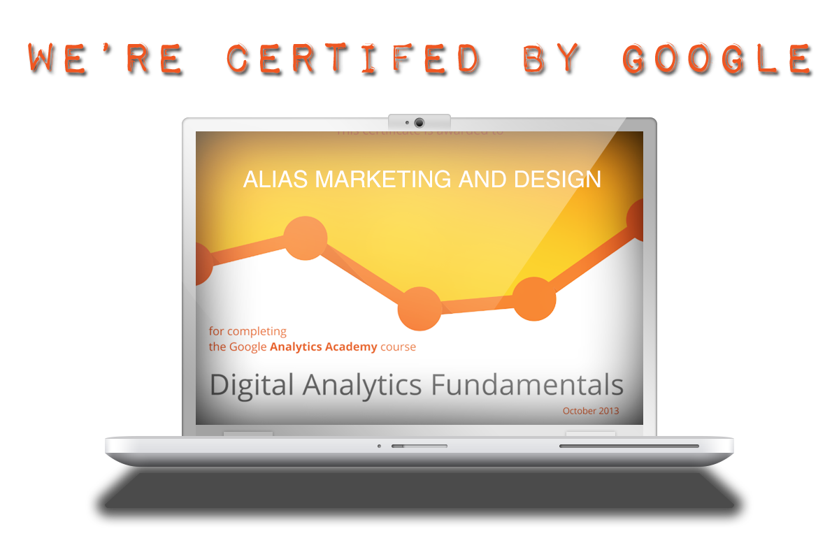 Alias-Marketing-and-Design---Google-Analytics-cert-banner