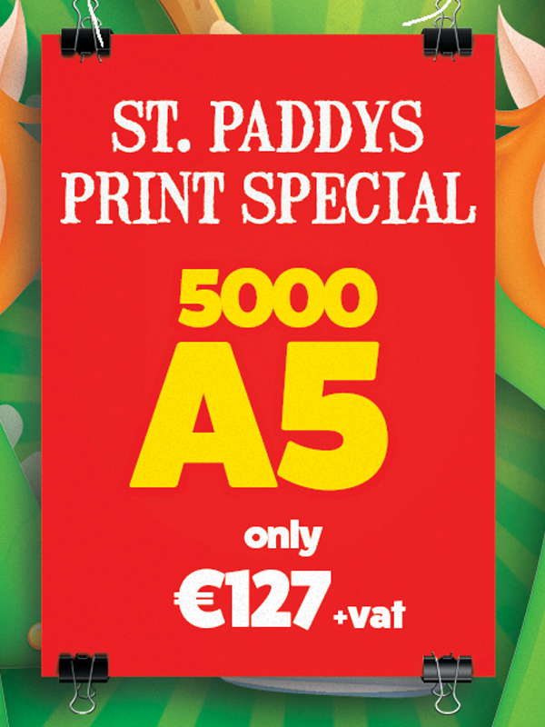 5000-for-€127-Paddy's-Day-Special-Product Image