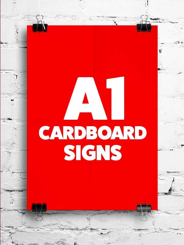A1-cardboard-advertising-poster-printing-Ireland